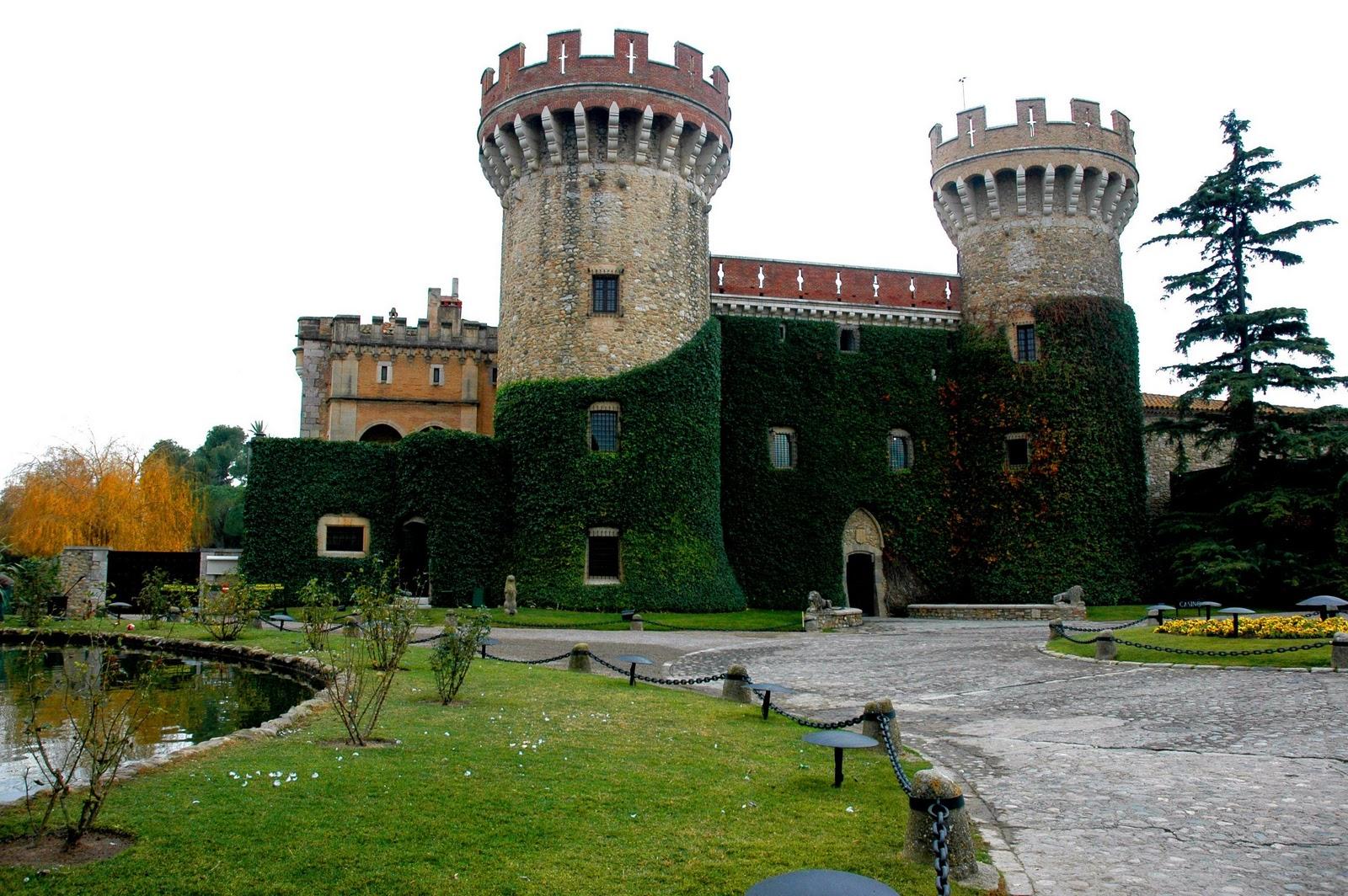Peralada Castle, Catalonia, Spain