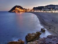 atardecer tossa de mar - castillo mar gran