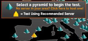 Sélectionner le triangle jaune (recommander)