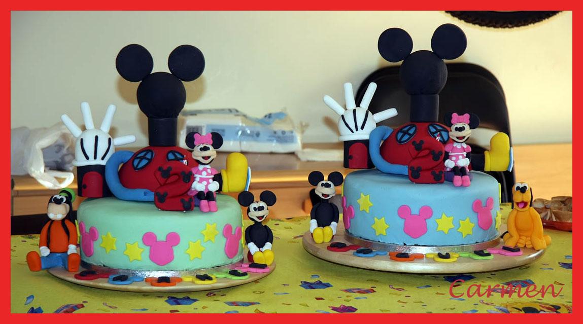 Carteles de cumpleaños de Mickey Mouse