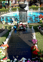 Click for Larger Image of of Elvis' Gravesite
