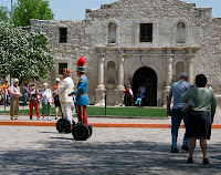 Click for Larger Image of Men and Alamo