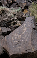 Click for Larger Image of Macaw Petroglyph