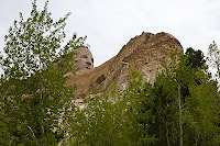 Click for Larger Image of Crazy Horse as Seen From Near the Base