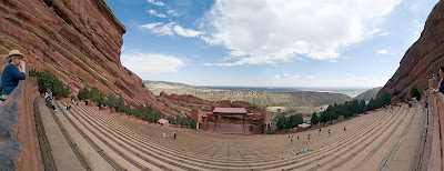 Click for Larger Image of Red Rocks Panorama