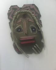 Mascara Africana Feita no 4ª FECAN