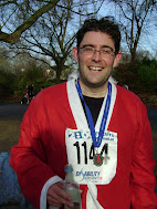 Battersea Park Santa Run - December 2009