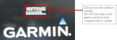 Convert 205W / 255W / 265W Garmin Nuvi to SG/MY firmware: Steps of