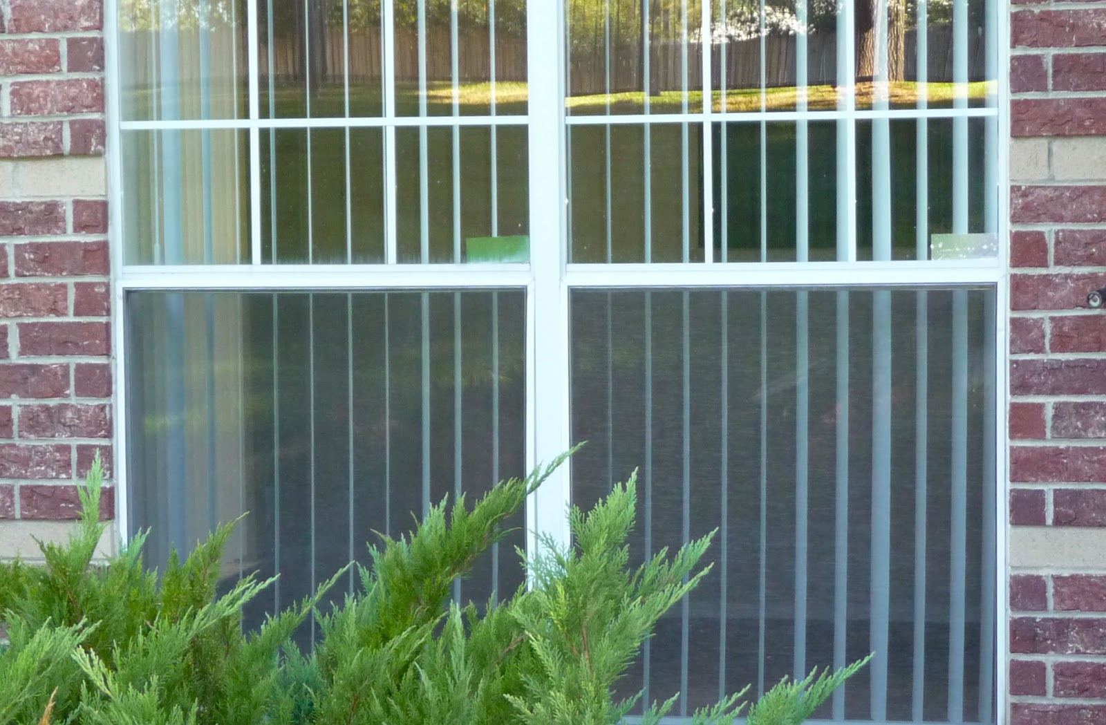 Apartment Patio Blinds: An easy way to hide vertical blinds. Good ...