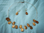 Gold Shell Necklace Set  $12-SOLD