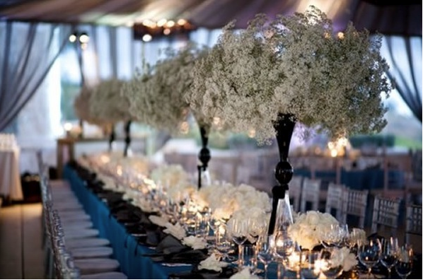 Christmas Wedding Centerpieces Ideas