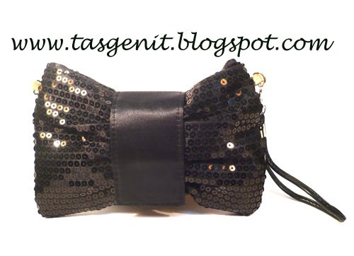 Glam Series Pita : Black Clutch Bag (OUT OF STOCK)