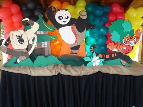Decoracion Kunfu Panda