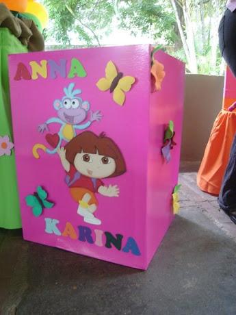 Caja de Regalos Dora