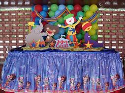 Decoracion Jojos Circus