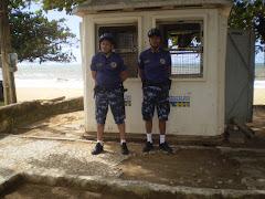 Os GCMS do GAT próximo à igrejinha de Piedade.The GCMS of the GAT next to igrejinha to Piedade.