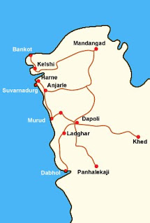 Places around Kelshi, Dapoli - Ratnagiri