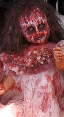 Blut, Grusel, Horror, Halloween, Día de los Muertos, Puppe