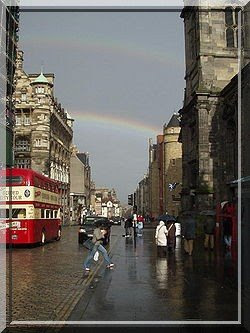 Royal Mile, Edinburgh, Schottland