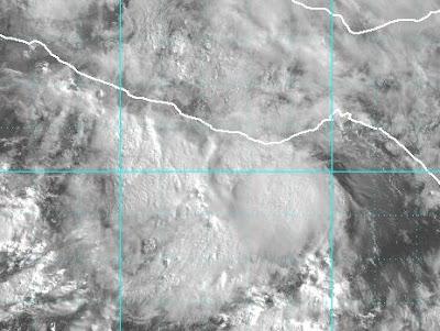 Pazifik aktuell: Tropische Depression 2-E (potentiell Tropischer Sturm BLAS), Blas, 2010,  Hurrikansaison 2010, Tropische Depression, Vorhersage Forecast Prognose, Zugbahn, Mexiko,