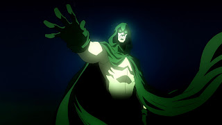 See, the Spectre was never in the Justice League, but he was a founding member of the Justice Society, which ... no, no, it's too much.