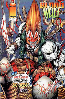 Rob Liefeld, ladies and gentlemen.  He's a big dumb animal, isn't he folks?