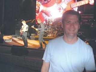 michael hodson at red rocks amphitheatre police concert