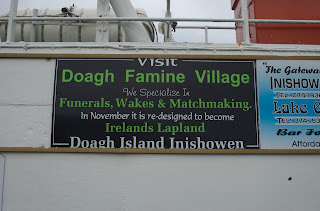 irish sign for funerals, wakes and match making