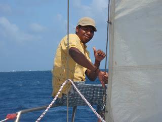 our sailboat captain for san blas islands tour