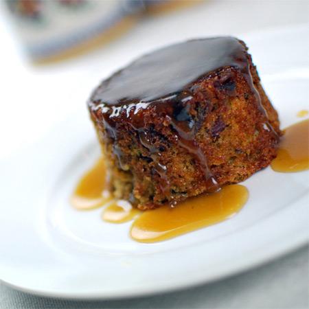 Warm Sticky Toffee Pudding Recipe — Dishmaps