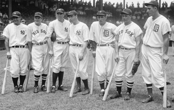 Image result for 1937 Major League Baseball All-Star Game