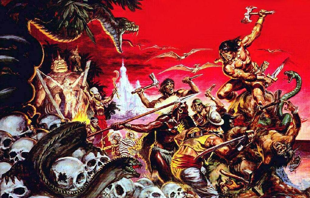 conan the barbarian comic book. conan the arbarian comic book