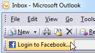 Integrar Facebook con Outlook
