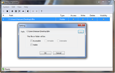 programa para bloquear archivos