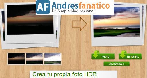Crear imagenes Fotos fotografias ejemplos tutorial HDR Online - Espectacular Efecto