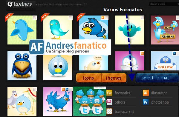 Descargar Los Mejores iconos de Twitter Gratis