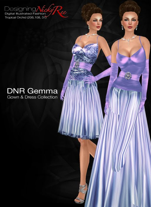 Designing Nicky Ree: New Release - Gemma Gown & Dress Collection