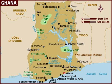 maps of ivory coast. Bordered by The Ivory Coast,