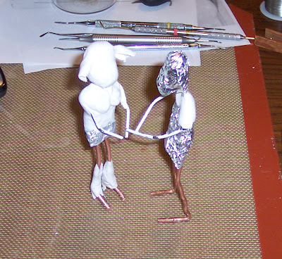 wire and foil skeletons