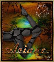 Formatação do poema de Ariane.