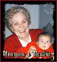 Noemia de Manuel e sua bisnetinha, Beatriz