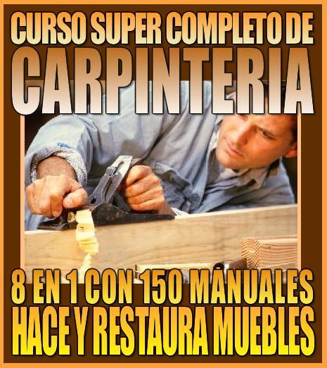 Cursos en pdf manualidades la mayor variedad mega for Curso de carpinteria en melamina pdf