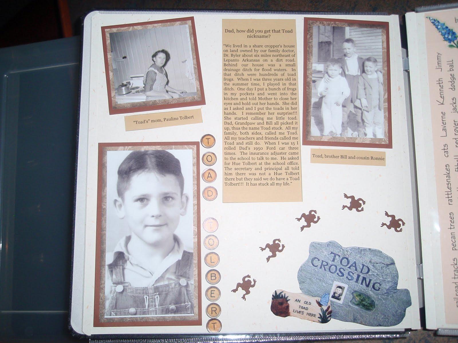 Oxford impressions: 50th wedding anniversary scrapbooking ideas