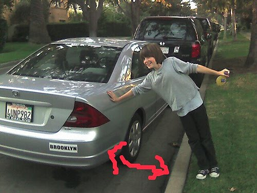 How To Park A Car Without Hitting The Curb