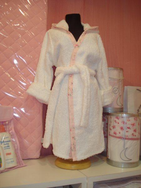 Imagenes Batas De Baño:Batas de baño con capucha, confeccionados en puro algodón doble