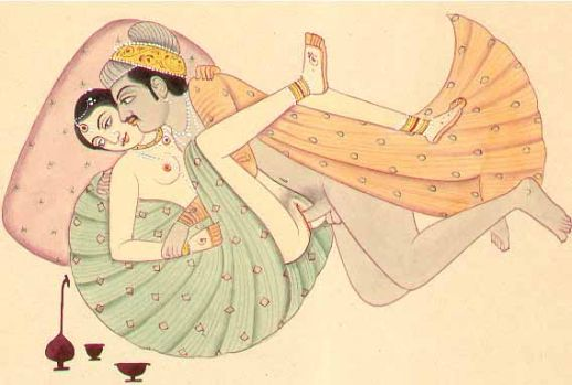 The indian erotic art must be seen at the light of Hinduism.