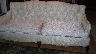 vintage couch to be re- upholstered