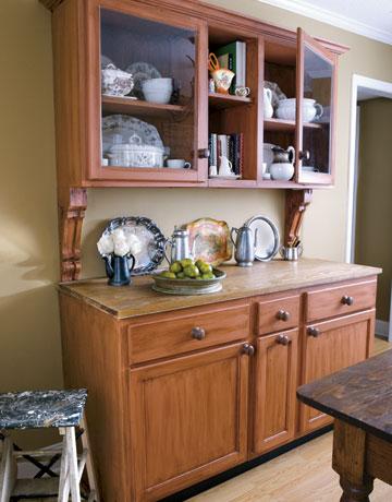 Kitchen hutches are the new black Jennifer Rizzo