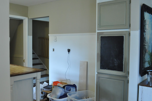 removing old cabinets