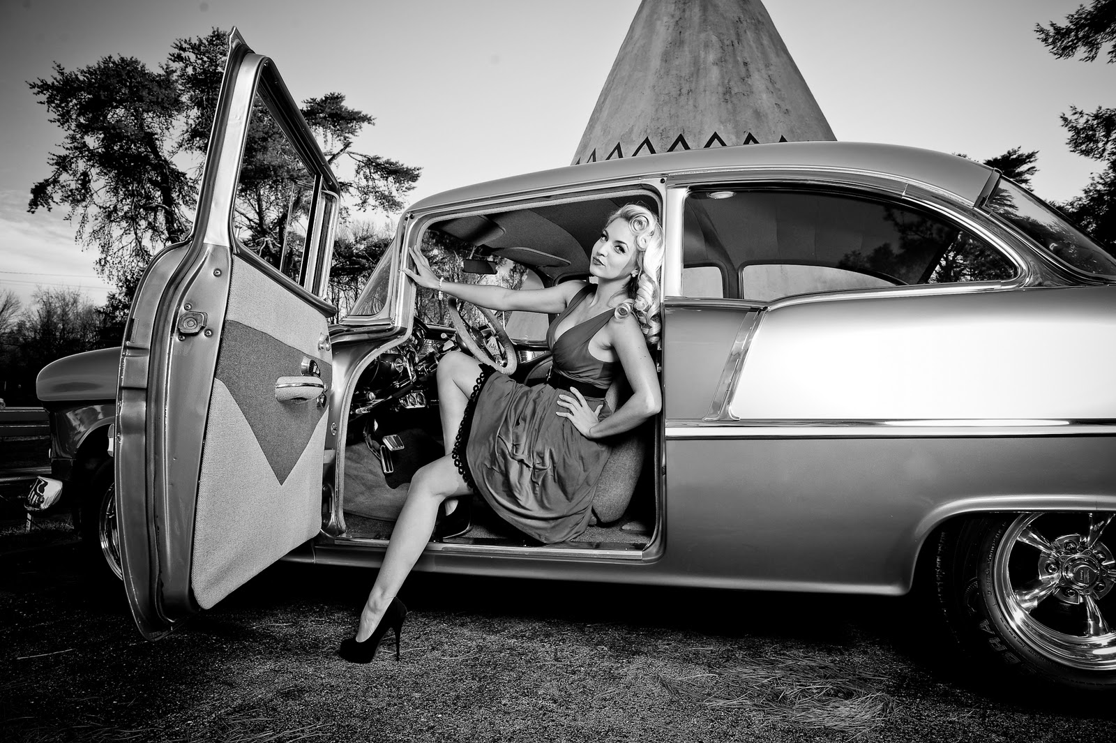 Boudoir Louisville Pinup Girl Photo Shoot Wigwam Village